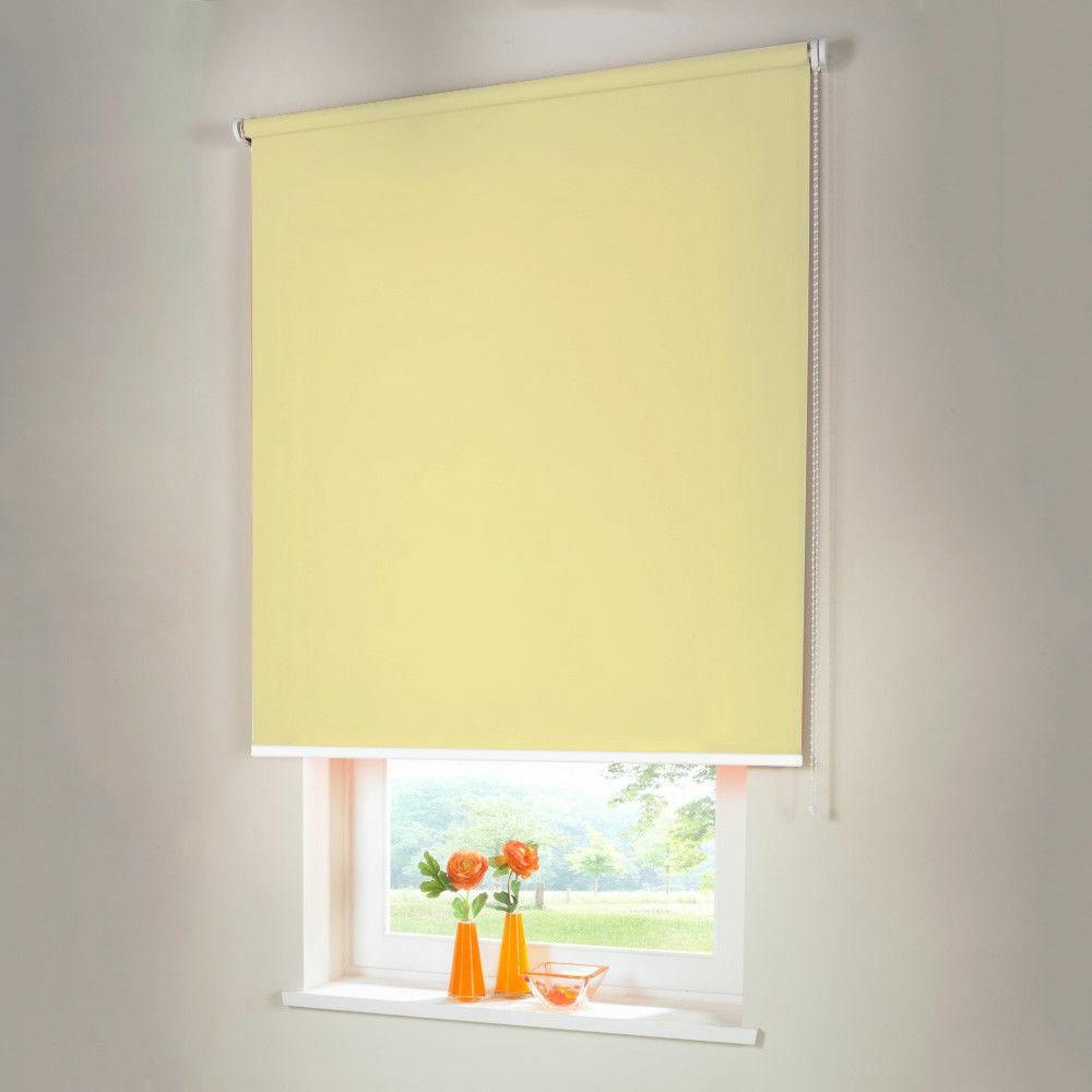 Persiana para oscurecer seitenzug kettenzug persiana-altura 210 cm amarillo claro