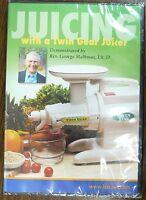Juicing With A Twin Gear Juicer Rev. George Malkmus,lit. D.