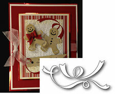 CURLED RIBBONS metal die Memory Box dies 98936 All Occasion swirl flourish