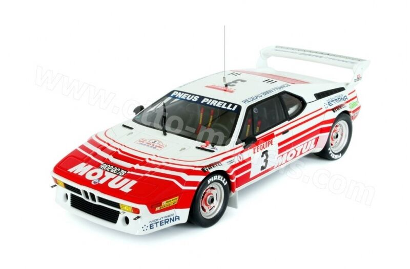 Otto Mobile BMW M1 Groupe B 1983 1 18  3 Beguin   Lenne Tour de Corse (MCC)