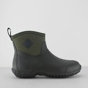 ce98081b4d7 Details about Muck Boots MUCKSTER II ANKLE Mens Soft Rubber Waterproof  Ankle Boots Moss Green