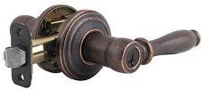 Lot of 4 Weiser Ashfield Rustic Bronze SmartKey Entry Door Levers