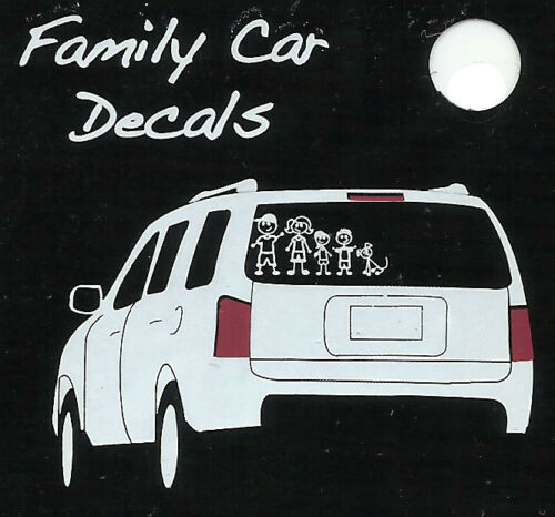 Family Car Decals Aufkleber für Auto Deko u.v.m. Family Car Sticker