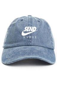 d0029ca3 Image is loading Send-Nudes-Custom-Unstructured-Dad-Hat-Baseball-Headwear-