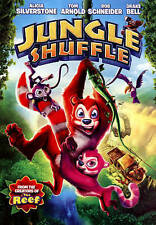 Jungle Shuffle DVD, Rob Schneider, Drake Bell, Alicia Silverstone, Tom Arnold, M