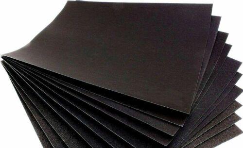 3x grain 1500 Humide//Sec Papier De Verre P1500 de sable fin papier usine STOCK CLEARANCE