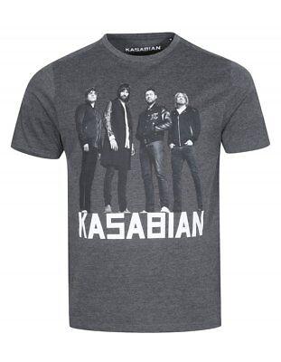 Onesto Kasabian Rock Band Inglese Nuova Licenza Ufficiale Varie Taglie T-shirt-mostra Il Titolo Originale Il Consumo Regolare Di Tè Migliora La Salute