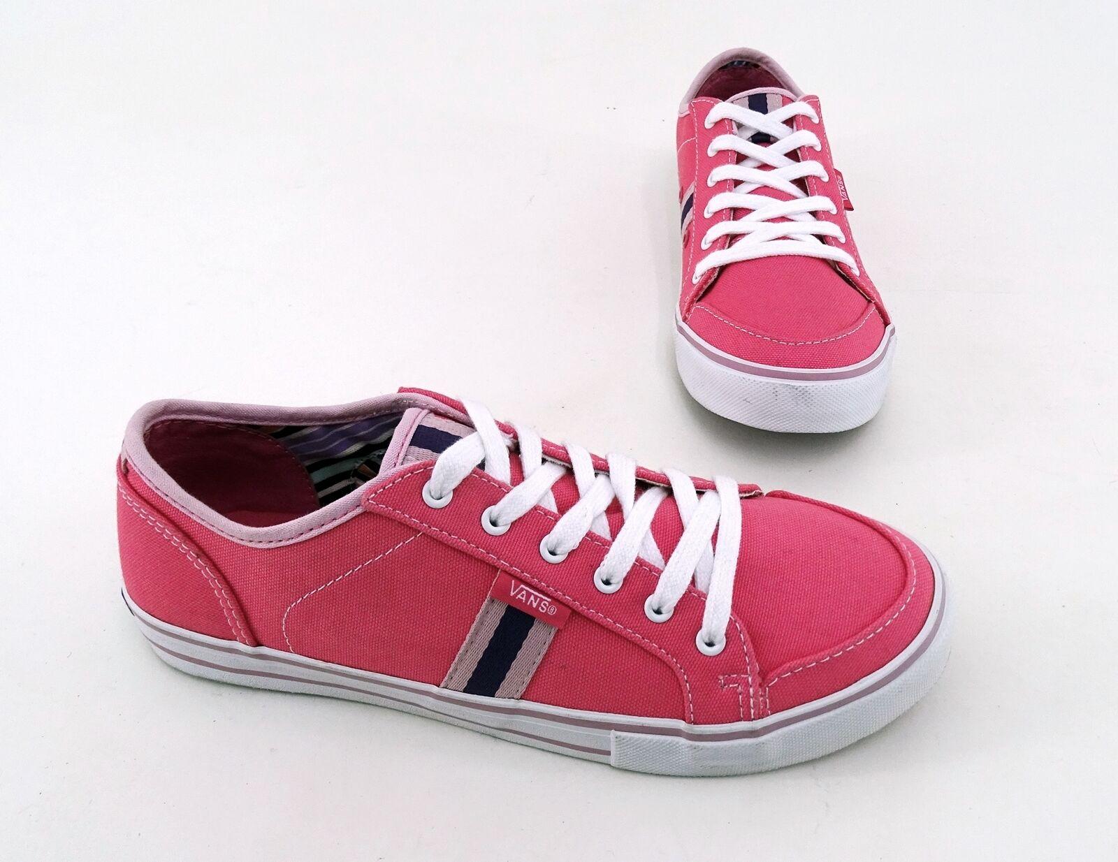 Sneaker VANS Halbschuhe Schnürer Textil pink pink Gr. 37