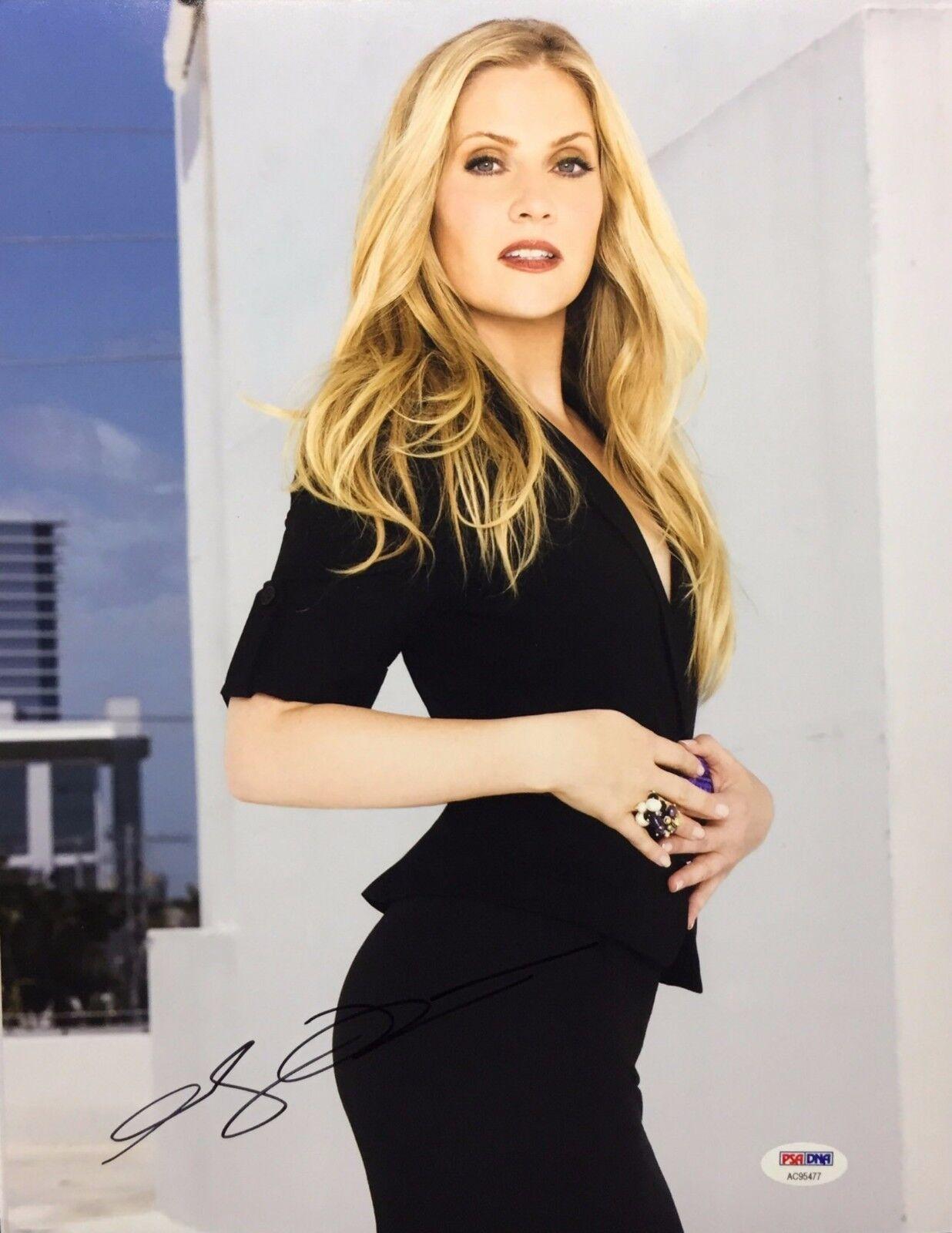Emily Procter Signed 11x14 Photo *Model *CSI Miami *Big Momma's House PSA