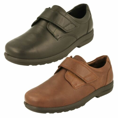 Mens Padders Leather Dual Fit Loafers *Dylan*