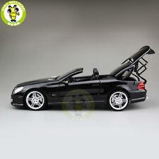 1:18 Daimler Mercedes Benz SL 63 AMG RMZ Model 240001 Diecast Model Car Black