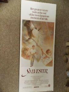 SYLVESTER-1985-MELISSA-GILBERT-ORIGINAL-INSERT-POSTER-14-034-BY36-034