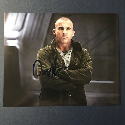 Television Dominic Purcell Signed 8x10 Photo Actor Autographed Legends Of Tomorrow Rare Soft And Light Autographs-original