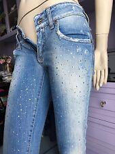 Jeans celeste MET Swarovski tg 25 PREZZO AFFARE