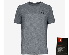 Under Armour UA Men/'s Heatgear Vanish Seamless Short Sleeve Black//Brown New