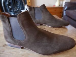c1c3648570d57 mens suede NEXT chelsea boots - size uk 11.5 great condition | eBay