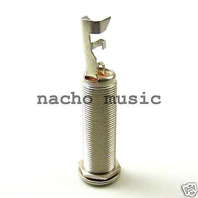 "Switchcraft 151 Long Thread Cylinder 1/4"" Mono Barrel Jack (Kramer, Ibanez, G&L)"