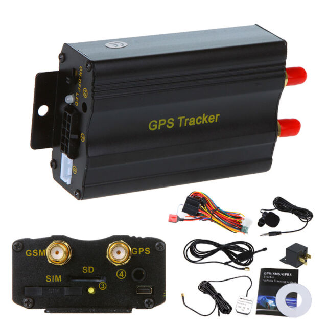 Car Truck Van Vehicle GPS Tracker Tracking System Device GSM GPRS TK103A SD Card