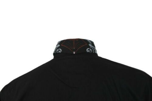 Men/'s Stylish Casual Dress Shirt Black White M L XL 2XL 3XL 4XL SG37