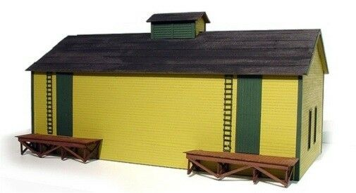 Branchline Laser Art O scale Icehouse Wooden Building