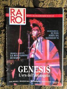 RARO! 4 1988 Magazine about discography ps GENESIS Elton John Manfred Man PAVONE