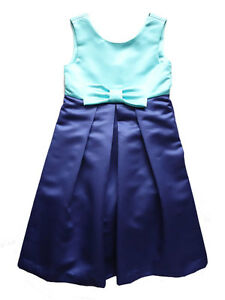 Amp me blue sleeveles girls party dress size 4 5 6 6x 7 8 10 nwt 76 82