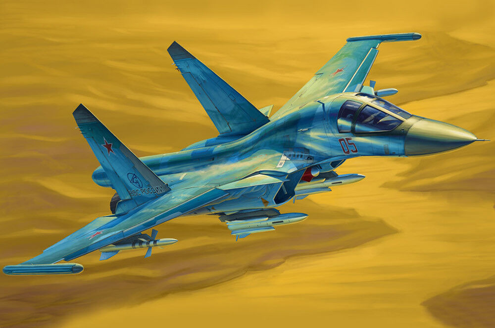 Hobby Boss 1/48 Russo Su-34 Fullback Fighter-Bomber 81756