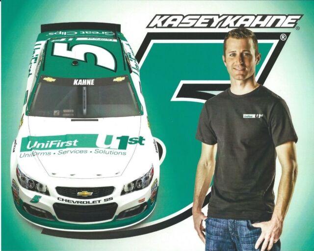 "2016 KASEY KAHNE TERRY LABONTE /""DARLINGTON THROWBACK /"" #5 NASCAR POSTCARD"