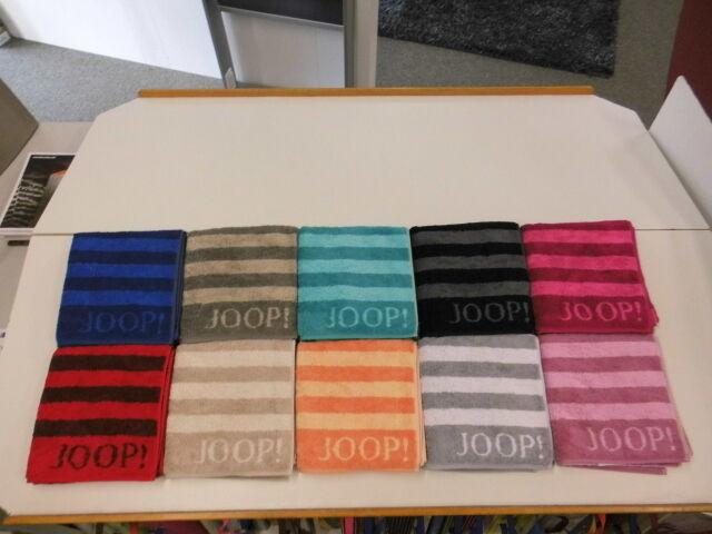 JOOP  CLASSIC Stripes 1610 in 10 Farben Handtücher Handtuch Duschtuch Saunatuch   | Verbraucher zuerst