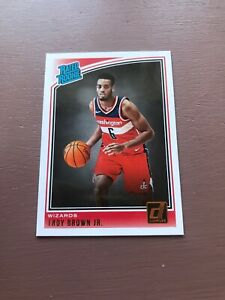 2018-19-Panini-Donruss-Basketball-Rated-Rookie-Troy-Brown-Jr