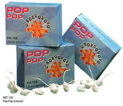 BOTTE POP POP CIPOLLINE BOTTICELLE CAPODANNO FESTE BAMBINI PARTY COMPLEANNO