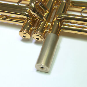 Yamaha-Trumpet-Monstro-Bottom-Cap-KGUBrass-Raw-Brass-D-BCMoR171