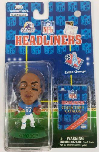 Eddie George-Corinthian NFL HEADLINERS 1997 figure Tennessee OILERS BRAND NEW