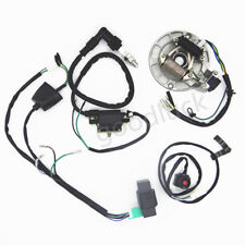 50 125cc kick start dirt pit bike wire harness wiring loom cdi coil rh ebay co uk