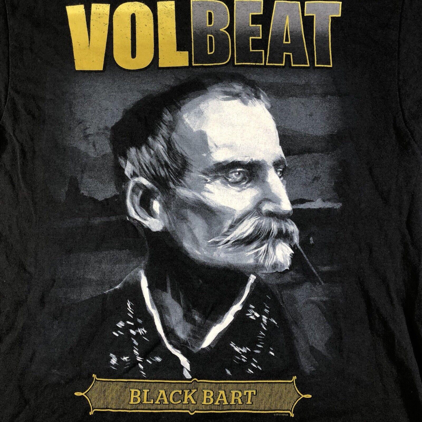 Volbeat Black Bart Outlaw Cowboy Rock Band 2013 T… - image 3