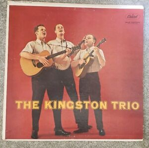 The-Kingston-Trio-The-Kingston-Trio-Vinyl-LP-Used-G-VG