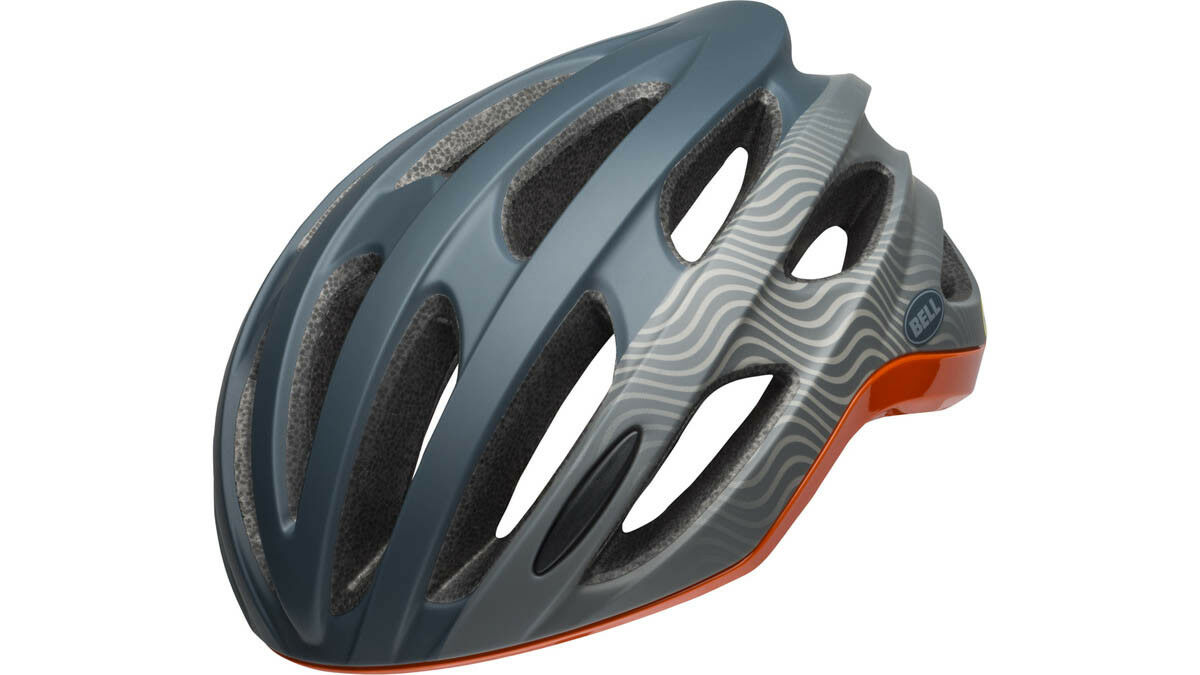 Bell Formula Road Cycling Helmet bleu gris Orange 2019