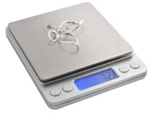 juwelierwaage-Bascula-fina-2kg-DORADA-Precision-Aage-Balanza-Digital-3465
