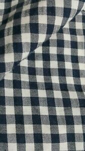 NAVY-AND-WHITE-PLAID-VISCOSE-FABRIC-SOLD-BY-METRE