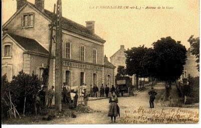 (S-42893) CPA FRANCE - 49 - LA POSSONNIERE CPA (S-42893) HOTEL DE LA GARE DUREAU 5a145b