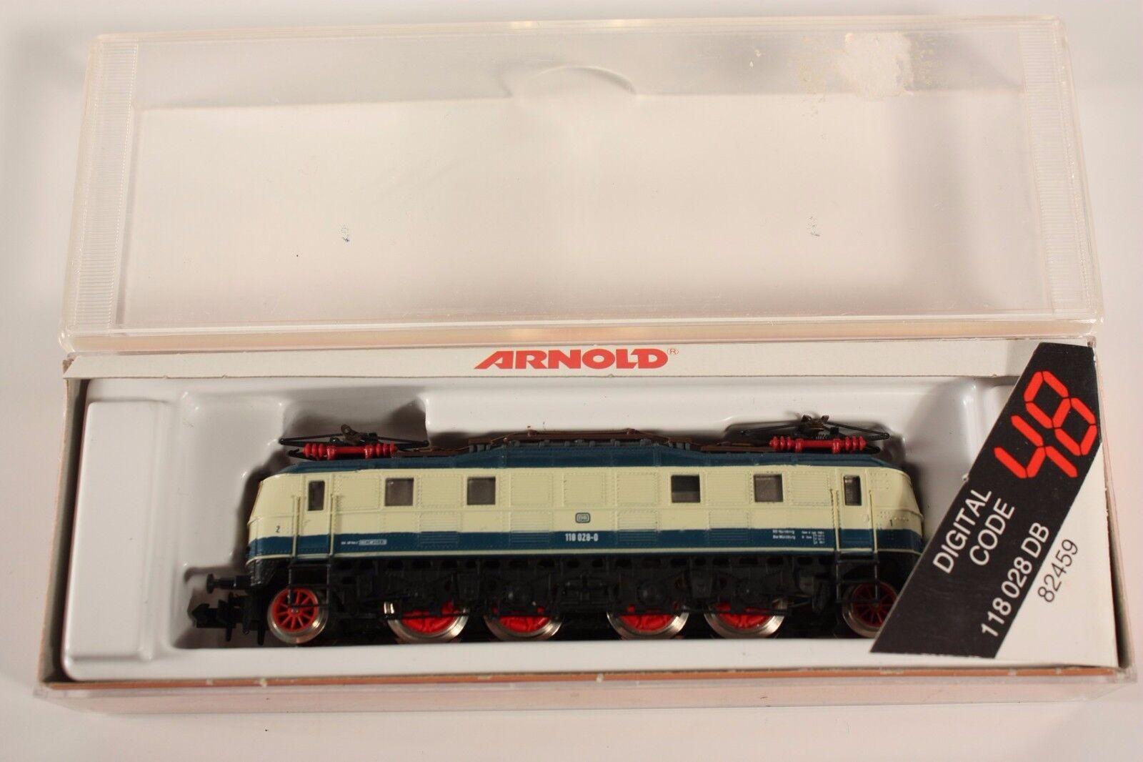 Arnold 82459, E 118 028 der Deutschen Bundesbahn, 1 1 1 160, im Okt          ab1805  | Bestellung willkommen  08822d