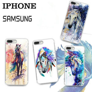 Animals-Running-Horse-Pattern-Phone-Case-Cover-For-iPhone-Samsung-LG-iPhone