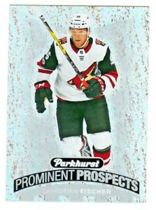 2017-18-Upper-Deck-PARKHURST-PROMINENT-PROSPECTS-CHRISTIAN-FISCHER-RC-Rookie