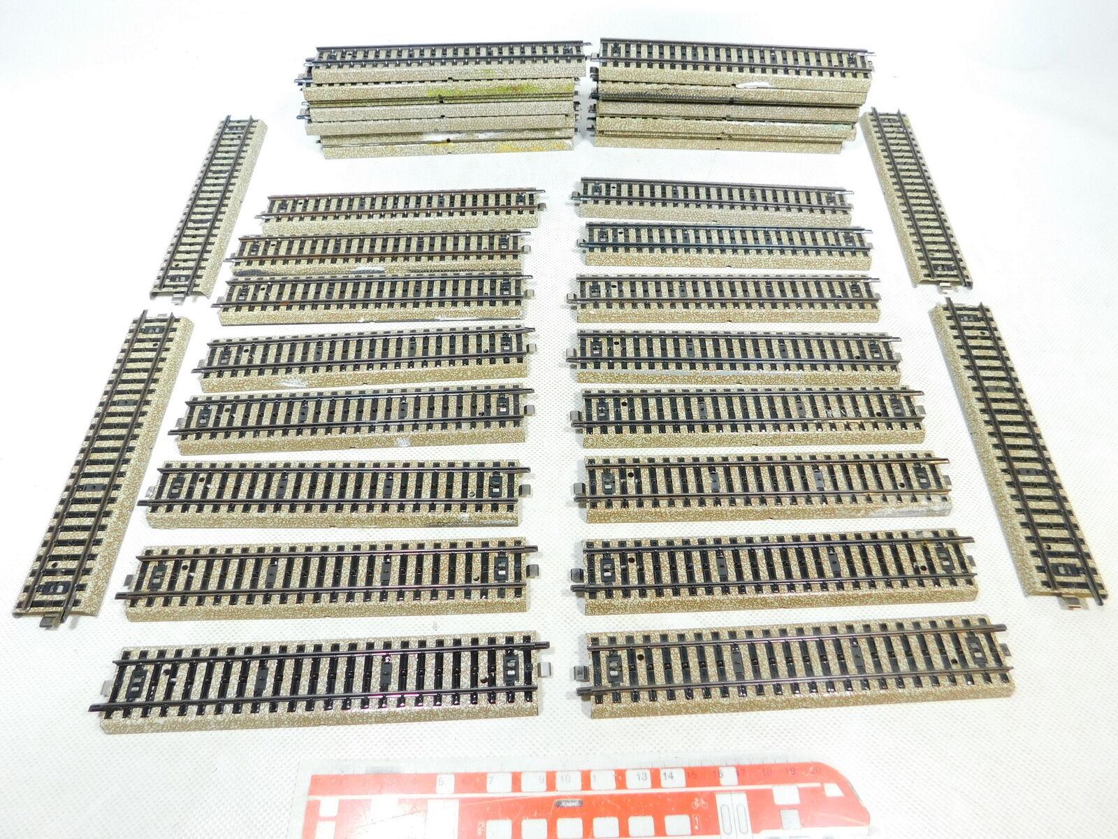 BW464-2 40x Märklin H0 Ac 5106 Pezzo Pista Dritto (M PISTA)