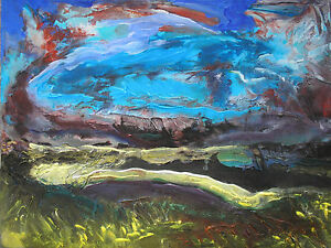 original-contemporary-acrylic-landscape-painting-on-canvas-FREE-POSTAGE