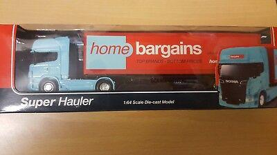 Home Bargains Super Hauler 1:64 Diecast Model Truck// Lorry