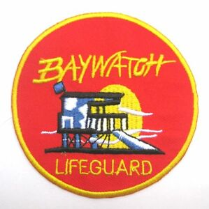 Amazon. Com: patch squad men's baywatch lifeguard embroidered patch.