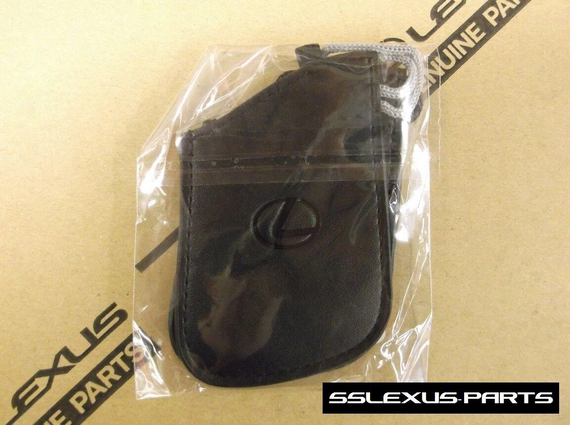 Lexus LC500 LC500H 2018- OEM Genuine KEY REMOTE FOB GLOVE x2 Black