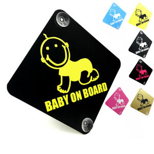 BABY-ON-BOARD-Cute-Smiling-Baby-car-window-sign-with-suction-cups