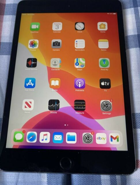 Apple iPad Mini (5th Generation) 256GB, Wi-Fi, 7.9in - Space Grey